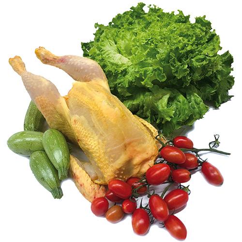 Pollo a busto Rusticanello